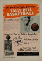 Ampliar Foto: Tally-Bell Basketball (1950)