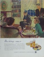Ampliar Foto: America´s Beverage of Moderation (1949)